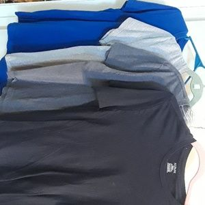 Mens 4 pack tee shirts $9 for 4 shirts